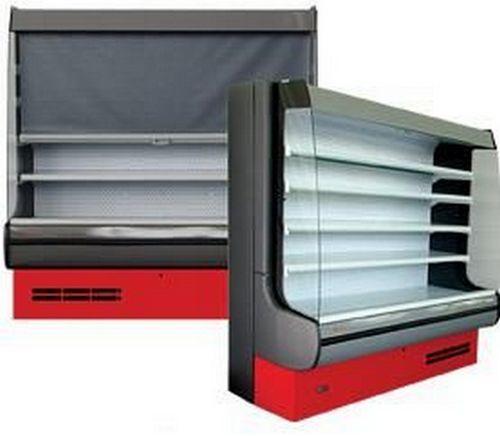 Витрина-горка холодильная пристенная Modena 2.0 (без бака выпаривателя и TRV-вентиля)