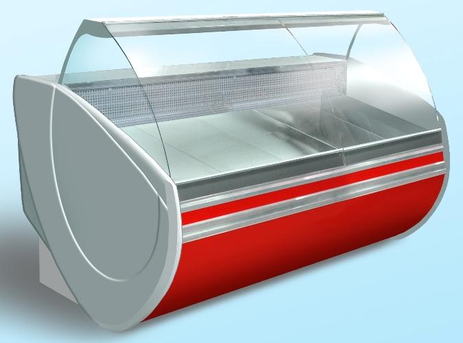 Витрина холодильная среднетемпературная Флорида ПВХС-2,0