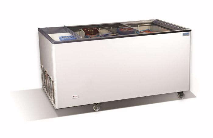 Морозильный ларь-бонета с прямыми крышками CrystalLite 15